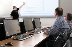Ein Schulungsraum bei qSkills